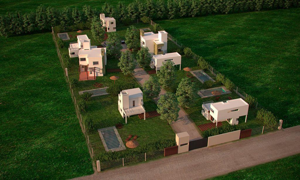 El complejo Brisas está ubicado en un terreno de casi media hectárea sobre calle Los Girasoles al 3200