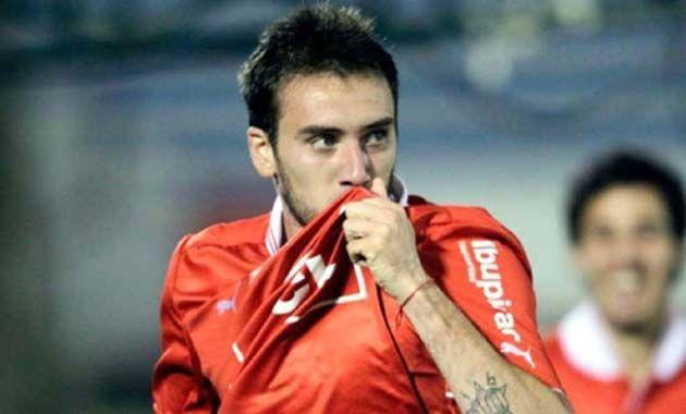 El capitán del Rojo fue el autor del primer gol del partido.