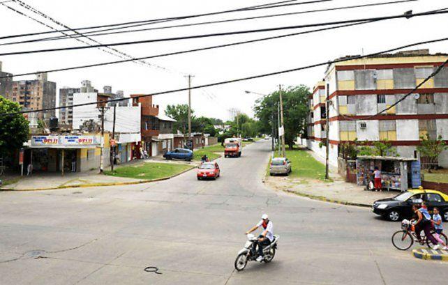 La zona de Grandoli y Gutiérrez