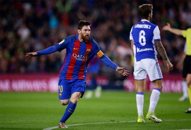 Leo Messi fue la figura de Barcelona