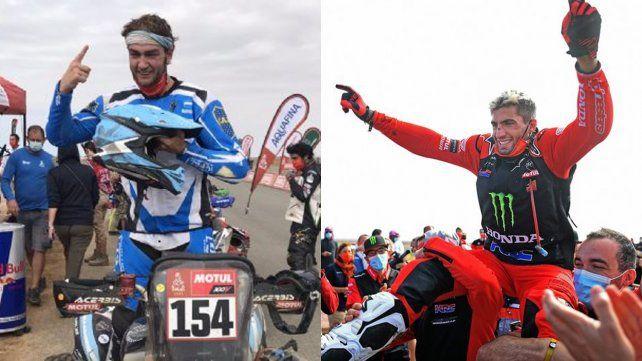 Rally Dakar: argentinos en moto y en cuatriciclo ganaron e hicieron historia