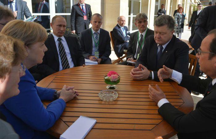 Fría reunión. La guerra en Siria opacó la cumbre sobre Ucrania en París.