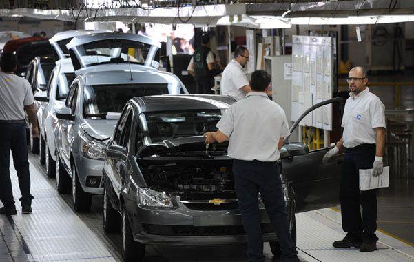 El más afectado. La producción de autos en la provincia cayó 13