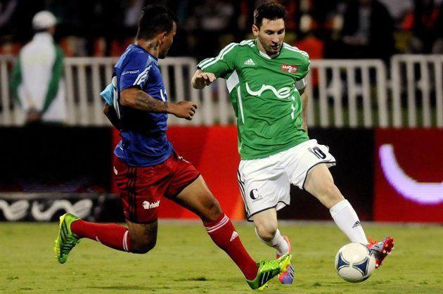 Messi jugó con Ospina; Stefan Medina