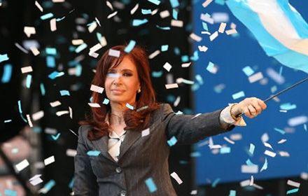 Cristina recibirá todo el respaldo en Vélez