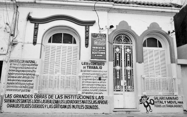 Reivindicación. El Sindicato de Obreros y Empleados Aceiteros de Rosario (Soear) tomó el cálculo del salario mínimo como bandera de lucha.
