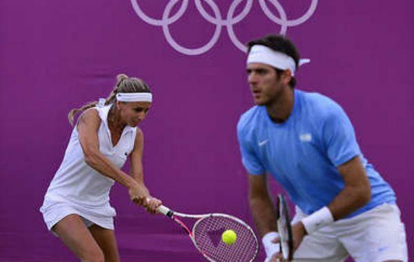 La dupla mixta argentina no pudo ante sus pares norteamericanos.