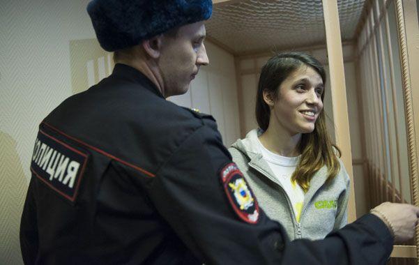 Camila Speziale. La activista argentina de Greenpeace de 21 años.