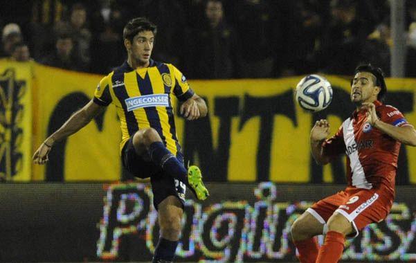 El Flaco ingresó ante Godoy Cruz por el defensor Lisandro Magallán y jugó hasta el final del torneo.
