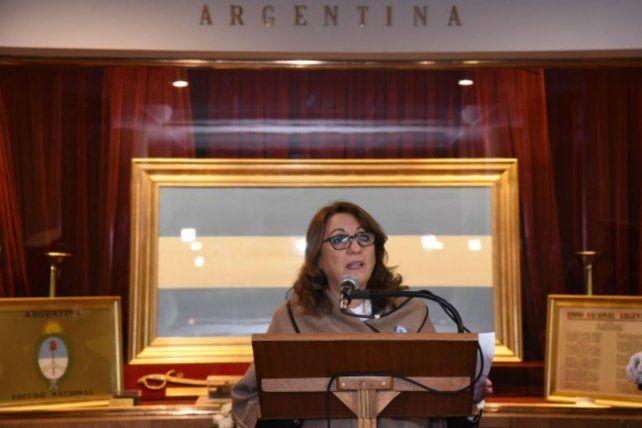 La intendenta Mónica Fein disparó munición gruesa contra los concejales del PRO.