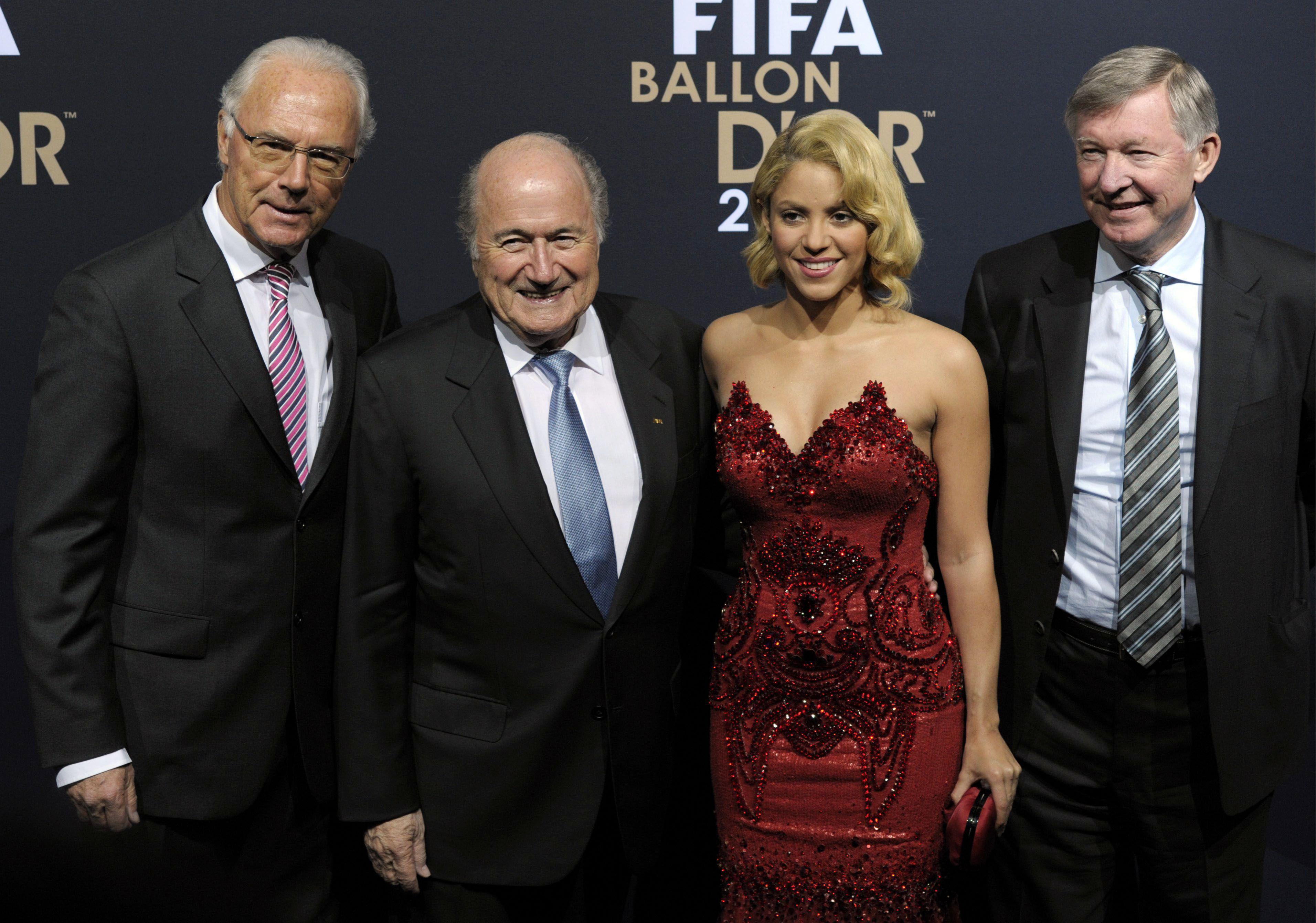 Qué delantera. Beckenbauer