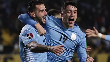 Uruguay fue una de las selecciones locales que ganó. Venció 1 a 0 a Ecuador sobre la hora