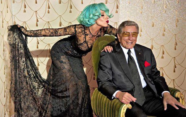 Gaga tiene 28 años; Bennett ya se acerca a los 90
