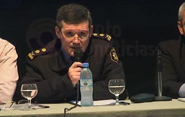 El comisario Claudio Prarizzi reconoció un aumento del delito.
