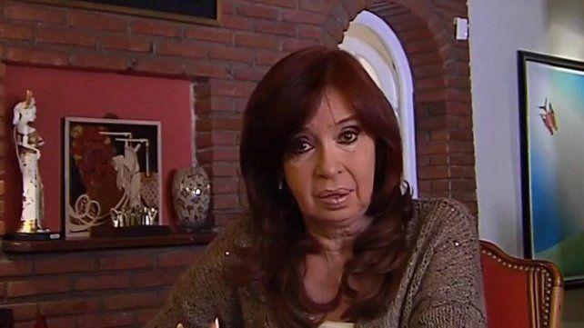 Cristina dijo que la victoria fue amplia y que las cosas tienen que cambiar