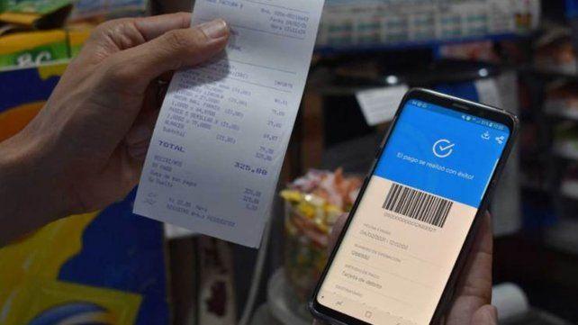 El sistema de pago virtual tuvo un impacto positivo, pero el consumo sigue en una meseta, advierten lo supermercadistas.