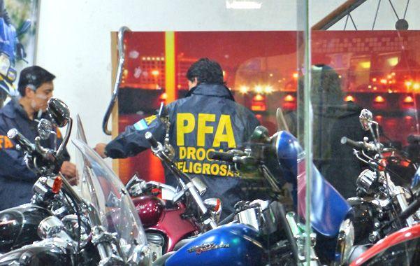 Allanamiento. El 1º de julio la Policía Federal estuvo en la concesionaria de Mendoza al 1400 buscando pruebas.
