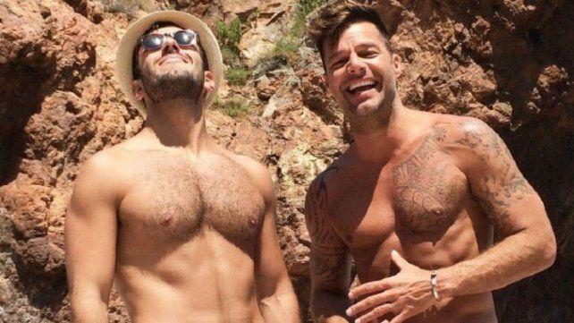 El novio de Ricky Martin le puso los puntos a Maluma tras el rumor de un video hot