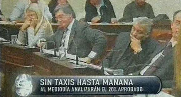 Finalmente el Concejo aprobó un aumento del 20 por ciento en la tarifa de los taxis