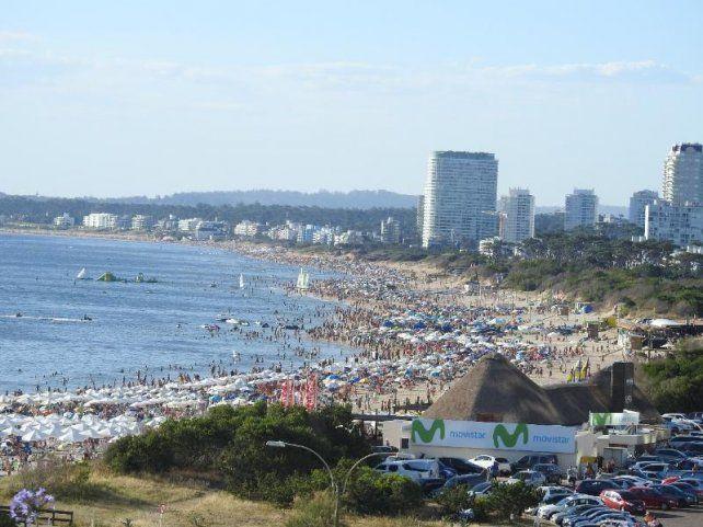 Las playas de Punta del Este