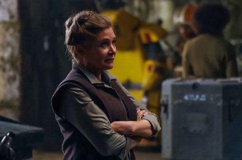 Carrie Fisher actúa en la próxima de Star Wars