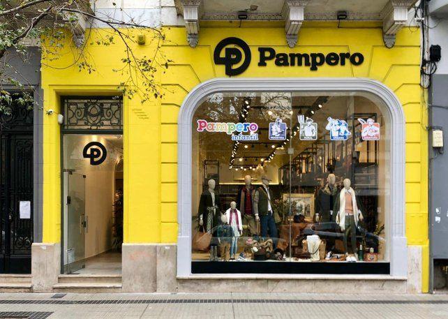 Inauguraron en el centro de nuestra ciudad el store de Pampero