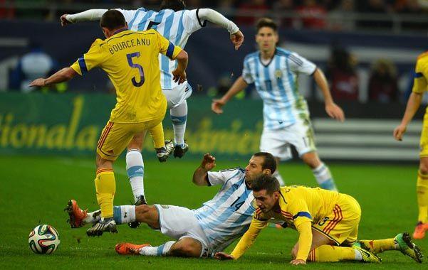 El equipo dirigido por Sabella mostró una preocupante imagen en el empate sin goles como visitante frente a Rumania.