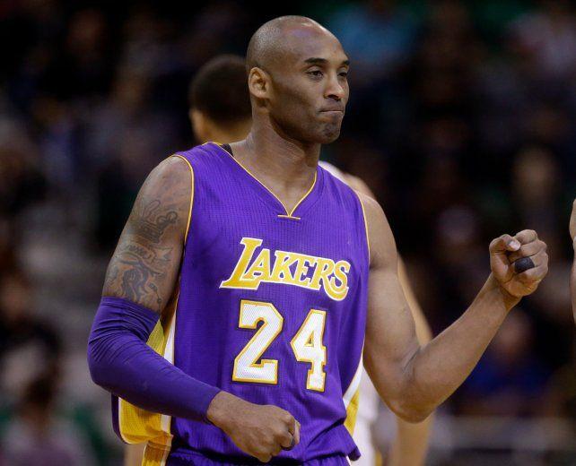 Kobe con la 24. También retirarán la 8.