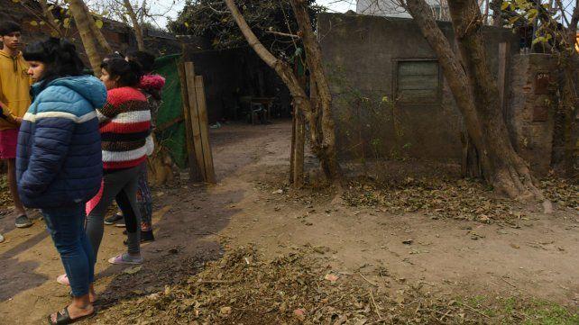 La vivienda donde ocurrió el crimen. Los vecinos estaban sorprendidos por final de Chiquito.