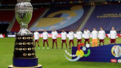 La mitad de los equipos de la Copa América ya tuvo casos de coronavirus.