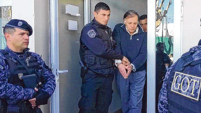 Pardini deja los tribunales. Lo hizo sin emitir palabra y en medio de muestras de repudio.