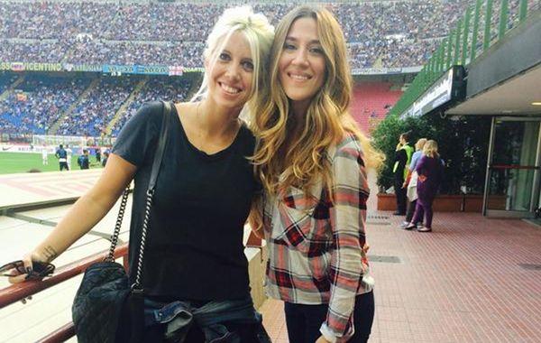 Wanda y Jimena compartieron buenos momentos en Italia.
