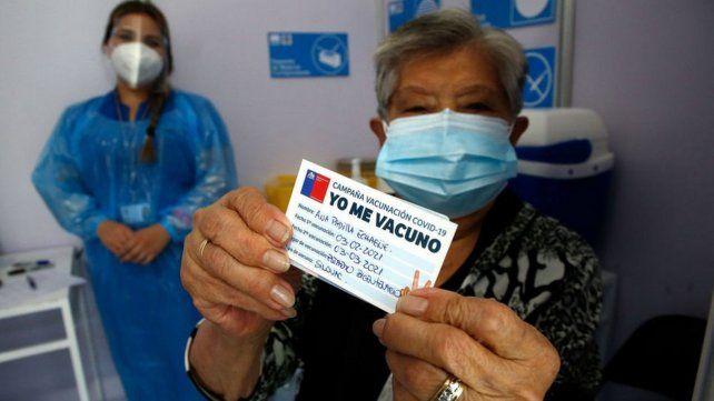 Chile superó a Israel: esta semana fue el país con más vacunados por habitantes