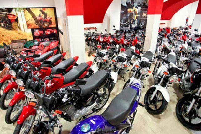 En Santa Fe el patentamiento de motos subió por encima del nivel nacional.