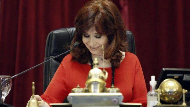 La vicepresidenta Cristina Fernández de Kirchner fue tendencia en Twitter por su blooper.