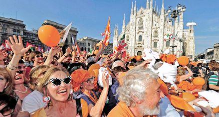 Berlusconi es derrotado en Milán y otras ciudades por la centroizquierda