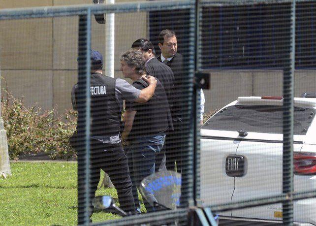Boudou está en el juzgado de Lijo para prestar declaración indagatoria