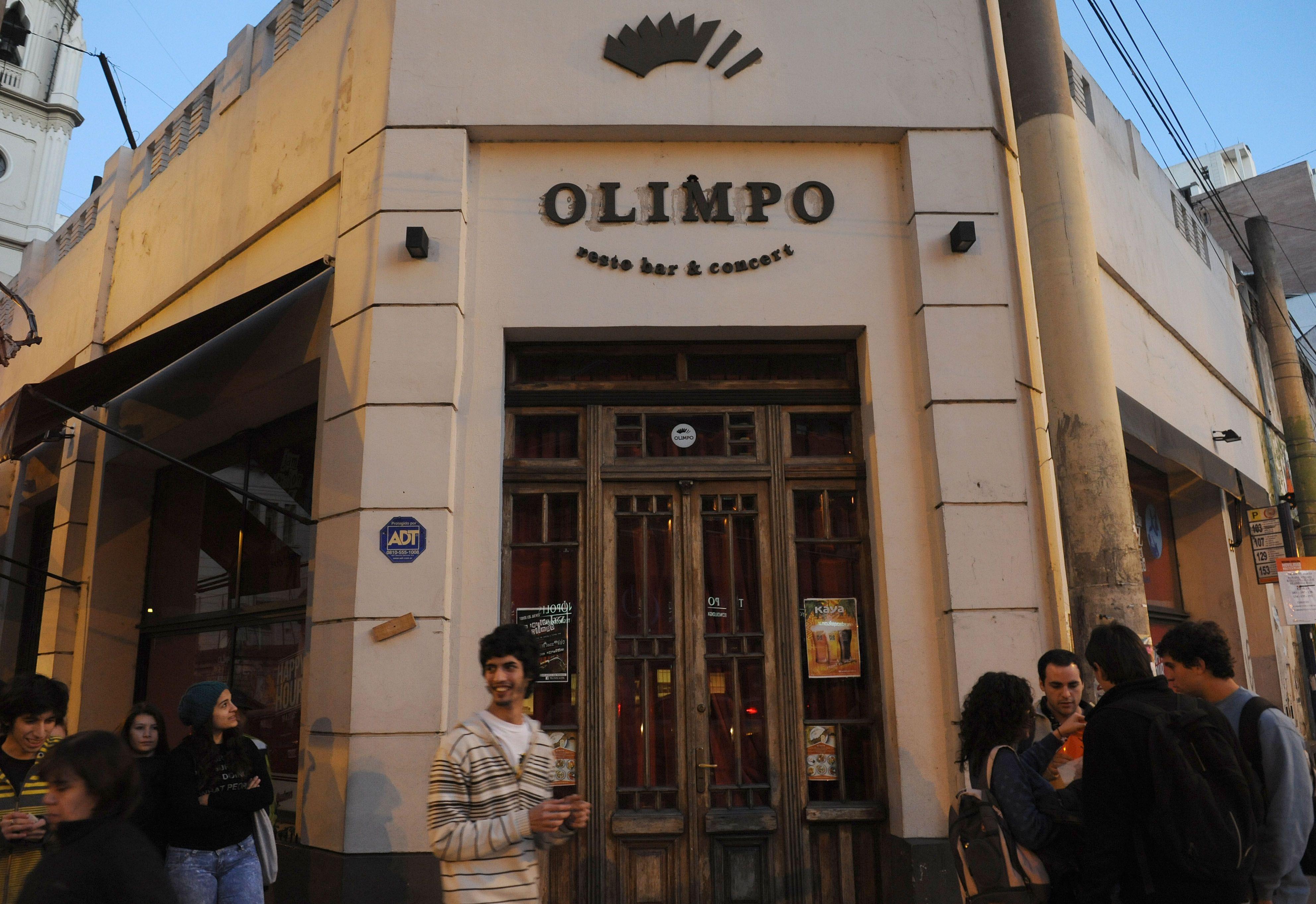 El emblático bar Olimpo