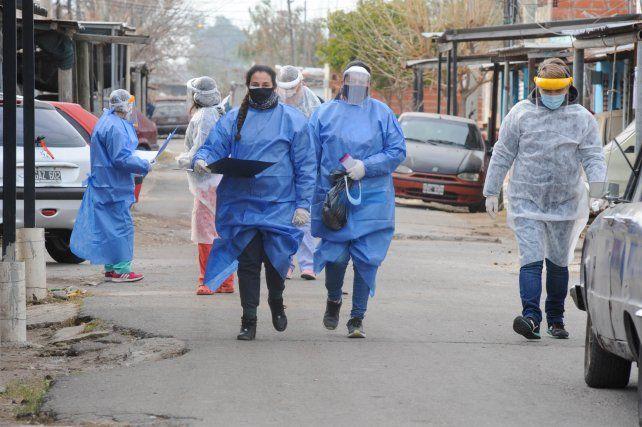 El delicado trabajo de quienes rastrean los casos de Covid en los barrios