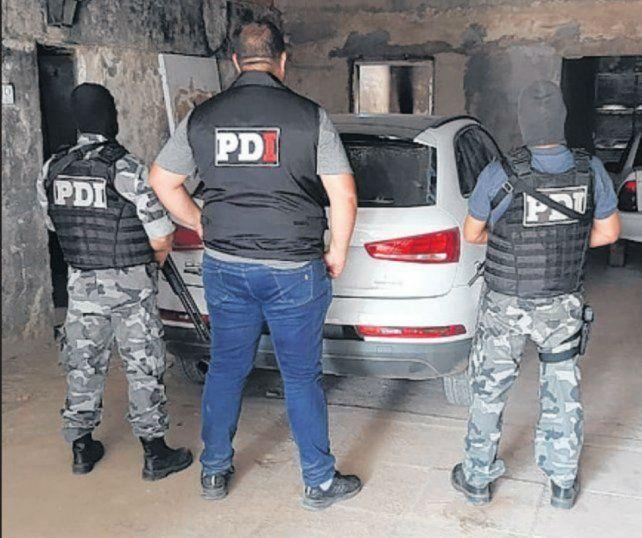 El Audi Q3 utilizado en la balacera fue hallado en una cochera de Cabín 9.