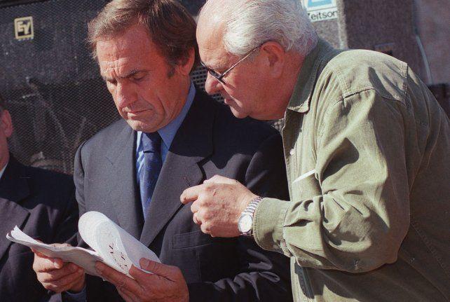 Con Héctor Cavallero el vínculo fue de menor a mayor.