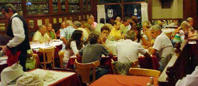 Oferta variada. Los precios de los restaurantes abarcan una amplia gama.