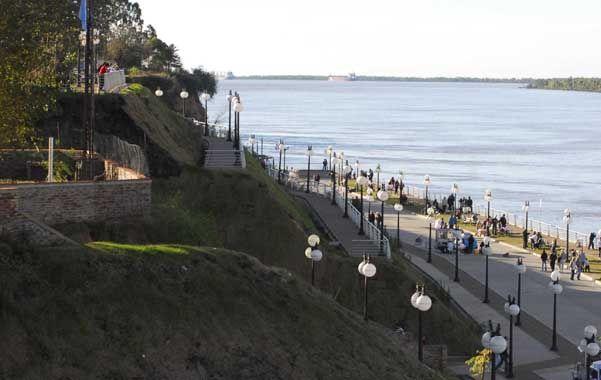 Con las obras en ejecución y las programadas la ciudad incorpora el paisaje ribereño al ámbito urbano.