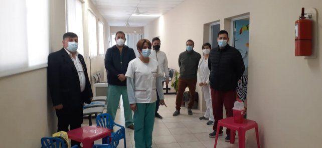 El coordinador de la Subregión San Martín del Ministerio de Salud