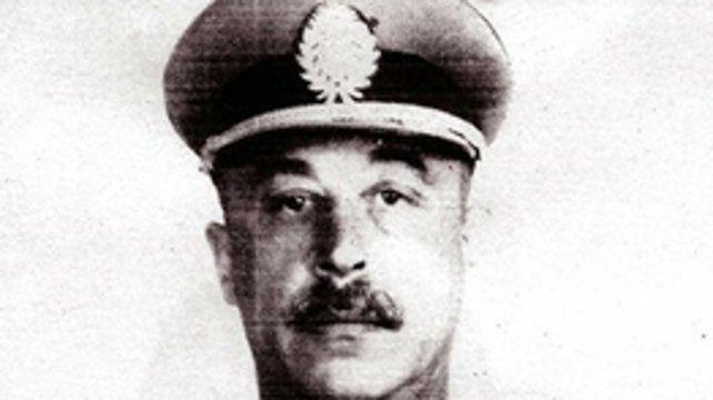 El gendarme Agustín Feced.