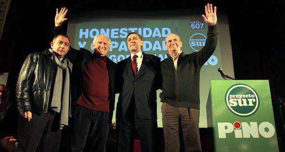 Binner asistió al acto de Solanas en Buenos Aires y vaticinó un triunfo de Proyecto Sur