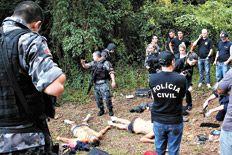 Los asaltantes se habían escondido con los rehenes en una zona boscosa de Río Grande do Sul después de que tres de los ladrones murieran al enfrentarse con la policía.