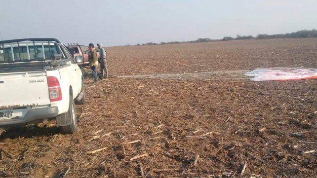 Se estrelló un avión de la Fuerza Aerea y su piloto murió tras eyectarse