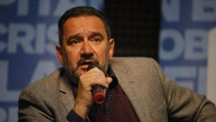 Claudio Leoni. Secretario general de la Festram.