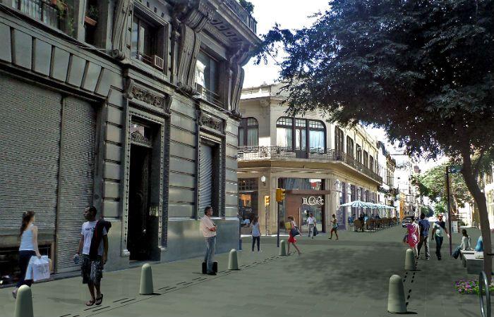 Proyecto. La Intendencia busca poner en valor el centro rosarino. Sobre Sarmiento habrá un corredor cultural.